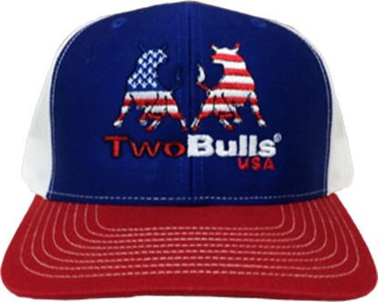 Picture of TwoBulls Mesh Cap - Red, White & Blue - USA